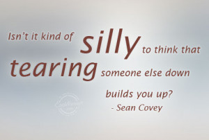 Gossip Quote: Isn't it kind of silly to think... Gossip-(3)