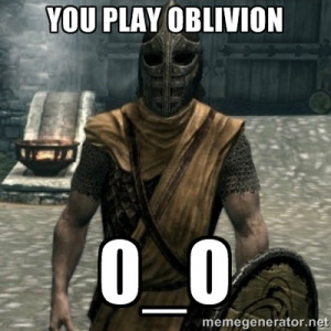 skyrim whiterun guard - YOU PLAY OBLIVION 0_O