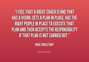 Quotes About Great Coaches