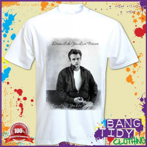 james-dean-inspired-rebel-1950-s-movie-star-retro-icon-famous-quote ...