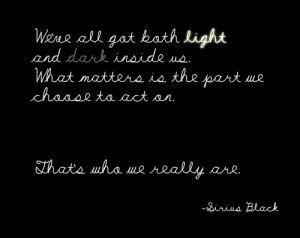 Sirus Black Quotes Light And Dark