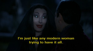 ... Leave a comment compilations , Picture quotes the addams family quotes