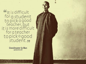 quote from Grandmaster Ip Man #martial arts #Wing Chun http://www ...