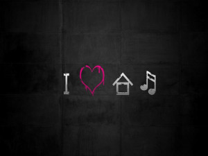 Love House Music Wallpaper