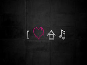 Love House Music Wallpaper