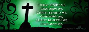 Saint Patrick Cross Facebook Cover