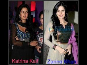 Katrina Kaif and Zarine Khan Look A Like!!