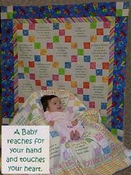 Baby Quotes Talking Quilt