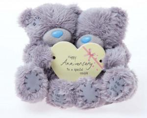 Anniversary Wishes Teddy Bear funny HD Wallpaper