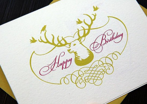 Read More Birthday Card Hunting Cards Happy Birthday Stationery