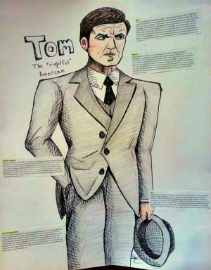 Tom Buchanan Great Gatsby Drawing Tom buchanan from the great