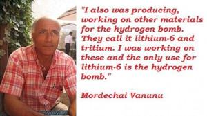 Mordechai vanunu famous quotes 2