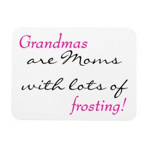 Grandma Quotes Grandma quote vinyl magnet