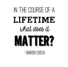 walk two moons by sharon creech such a good book sad too more quotes ...