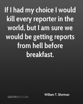 William T Sherman Quotes Quotesgram