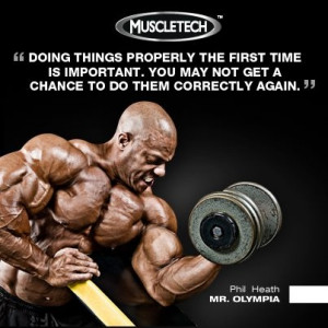 Motivation from Phil Heath: Bodybuilding Motivation