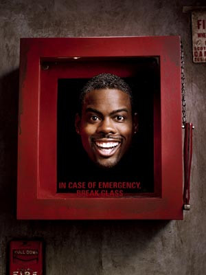Chris Rock | QUITE ALARMING The key to one of Rock's issue-based jokes ...