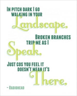 doodle #lyric #quote #radiohead