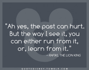 ... Quote Disney disney, quote, lion king, disney quot, rafiki, the lion