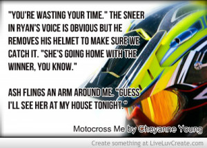 Motocross Me Teaser Quote