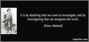 More Peter Abelard Quotes