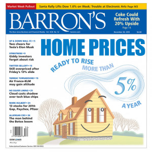 Barron's: Will Housing Keep Rising?