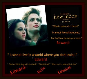 Twilight Series Edward and Bella quotes