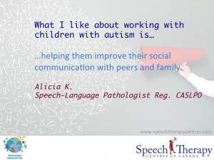 World Autism Day 2014: What We Love About Working with Kids with ...