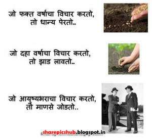 Beautiful Wise Quotes in Marathi With Pics | Marathi Sayings Wallpaper