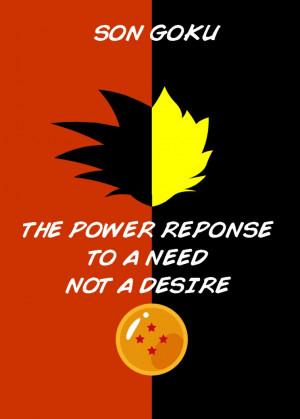Goku Quotes Quotefully...