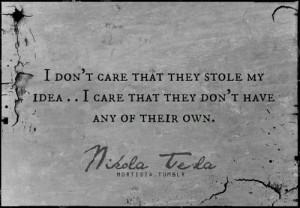 Nikola tesla, quotes, sayings, idea, famous, quote