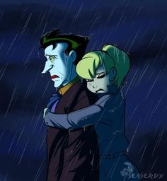 Joker And Harley Quinn Sad