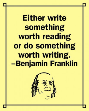 Benjamin franklin, quotes, sayings, worth, reading