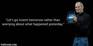 Quote of the day - Steve Jobs