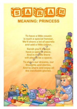 Baby Name Meaning and Poem. )