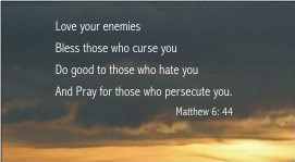 Love Your Enemies Quotes Bible #1