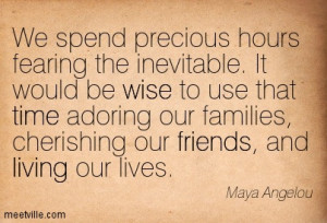 Maya Angelou Quotes About Friends