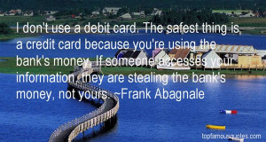 Top Quotes About Stealing Money