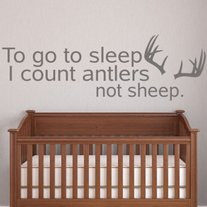 Count antlers not sheep!