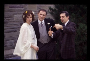 Jerry Ciccoritti, Colm Feore and Polly Shannon in Trudeau (2002)