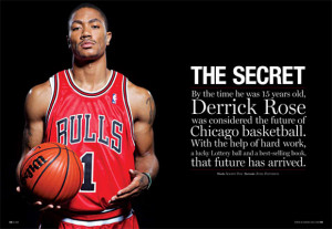 The Bulls are back - MVP Derrick Rose and my new favorite announcer ...