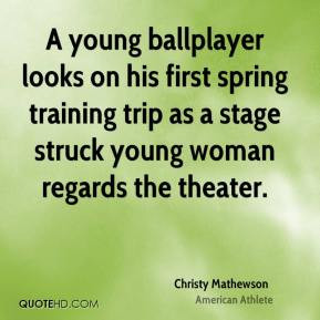 Christy Mathewson Sports Quotes