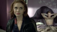 Teen Wolf Season 3 Episode 1 Tattoo Holland Roden Lydia Martin and her ...