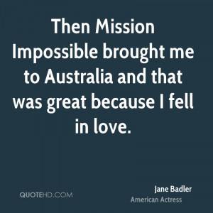 Jane Badler Quotes