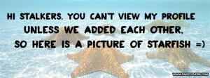 Funny Facebook Stalker Quotes Meme