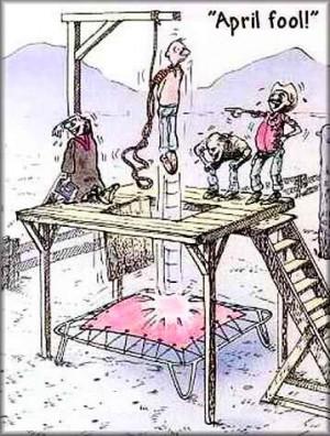 Funny English Cartoon: April Fool