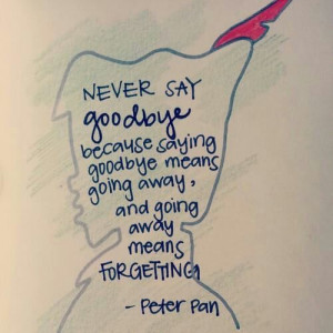 Go Back > Gallery For > Quotes About Growing Up Peter Pan