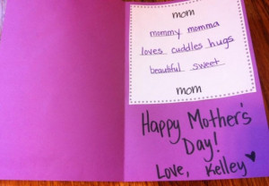 Family quotes mother birthday quotes on pink cute book just for you