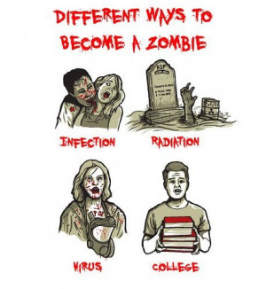 Funny Zombie Love 6 – While Out On The Town You Always Get To Meat ...
