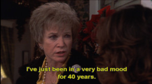... of Shirley MacLaine as Ouiser Boudreaux from Steel Magnolias